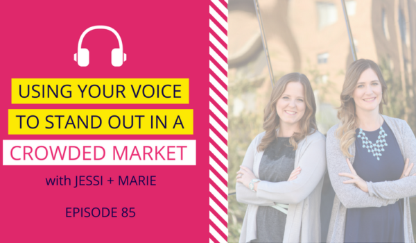 DDA 85: Using Your Voice to Stand Out in a Crowded Market